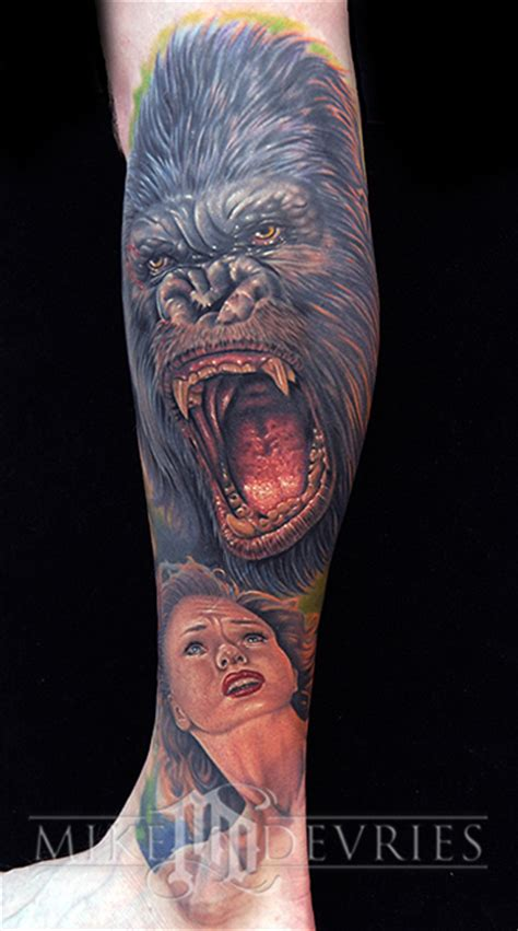 king kong tattoo 55 incredibly bad tattoos by mike devries