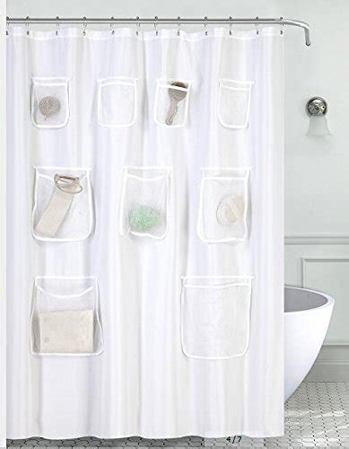 shower curtain liner with pockets compare price to shower curtain liner with pockets
