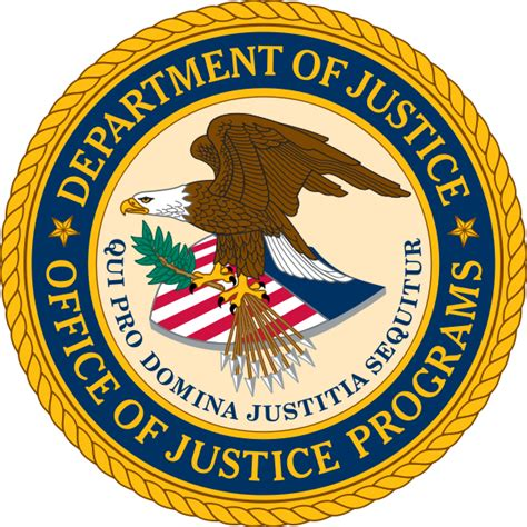 United States Department Of Justice Search File Us Officeofjusticeprograms Seal Svg Wikimedia Commons