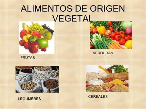 imagenes de origen animal vegetal y mineral alimentos de origen vegetal