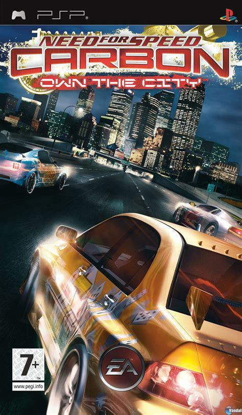 speed carbono domina la ciudad videojuego psp