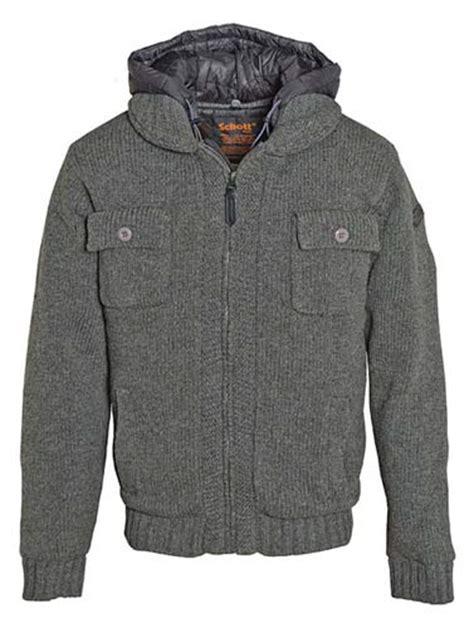 Jaket Sweater Hoodie Supreme Ch schott nyc acrylic wool blend hoodie jacket 1255
