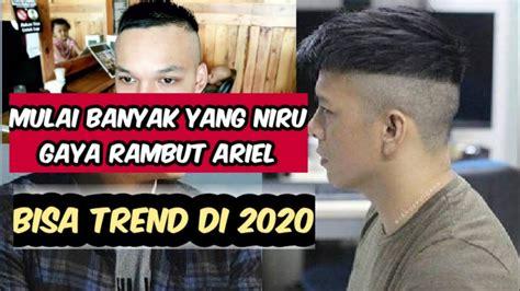 gaya rambut ariel noah terbaru model rambut  youtube