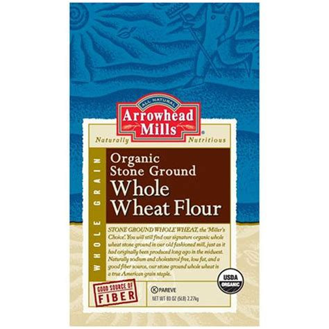 producers organic wheat flour millers stone ground evitamins com arrowhead mills organic stone ground whole
