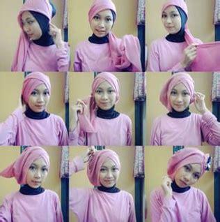 tutorial hijab segi empat bahasa inggris kumpulan cara memakai kerudung segi empat turban