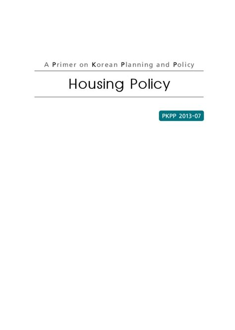 housing policy housing policy smartnet