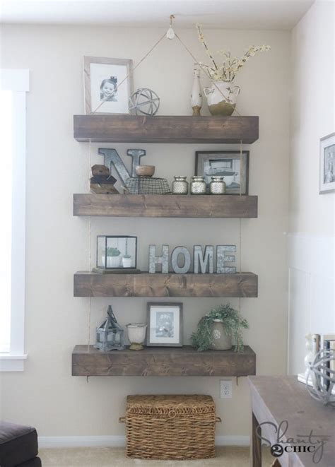 decorating with floating shelves best 20 floating shelf decor ideas on pinterest