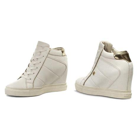 Sneaker Wedges White Snow Brokat Terbaru sneakers hilfiger danice 1a fw56820792 snow white gold 118 sneakers low shoes