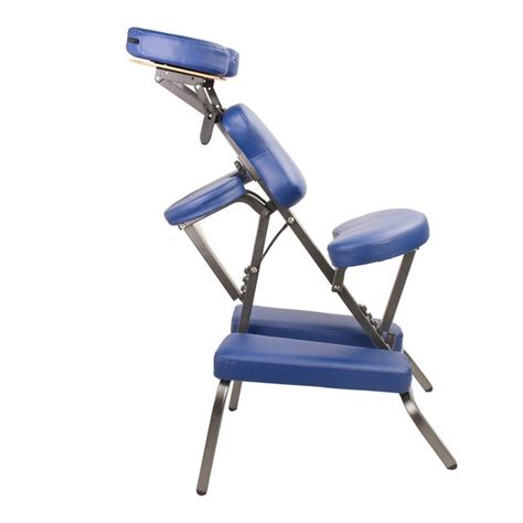 Therapist Chair by Portable Vinyl Therapy Chair Blue Buy