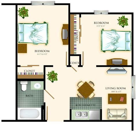 Assisted Living Floor Plan park village health care assisted living two bedroom