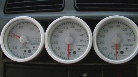 trust greddy water meter thermometer pressure