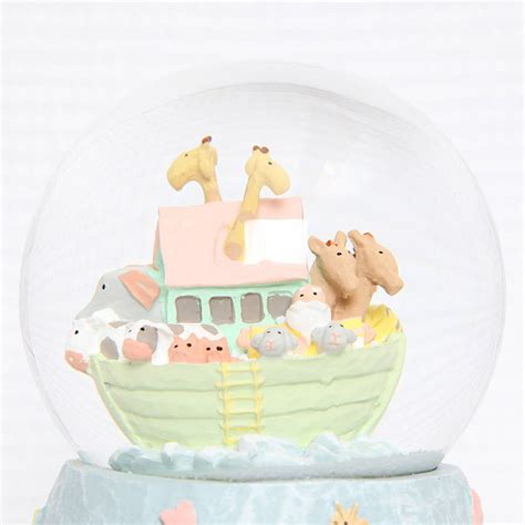 noah s ark musical snow globe by red berry apple
