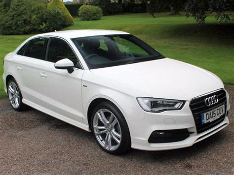 Audi A3 S Line 2015 by 2015 15 Audi A3 Saloon 2 0tdi S Line 4dr In