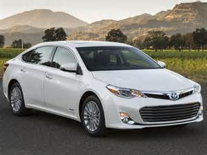 Toyota Avalon Hybrid Mpg 2015 Toyota Avalon Hybrid Ny Daily News
