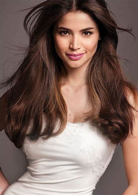 filipino actresses under 30 anne curtis voluminous middle part hairstyle party