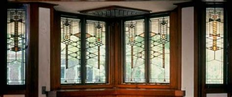 robie house windows art nouveau architecture in america craftsman homes sullivan and wright