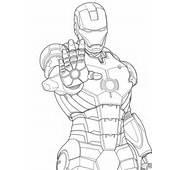 Homem De Ferro / Iron Man Desenhos Para Colorir Imprimir E Pintar