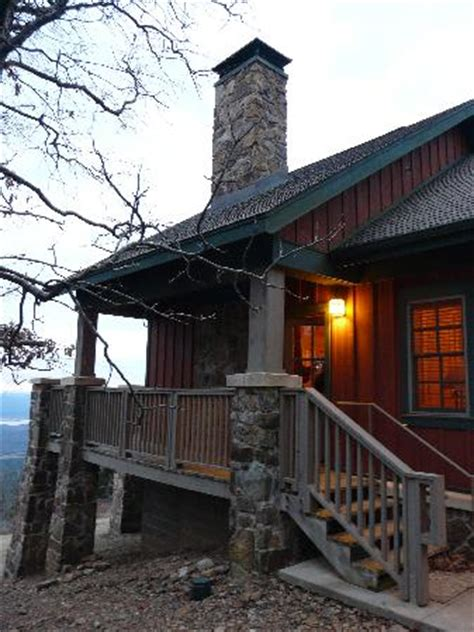 Mt Magazine Cabins by Back Deck With Tub Picture Of Mount Magazine State Park Tripadvisor