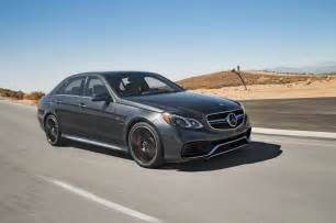 2014 mercedes e63 s amg front three quarter in motion