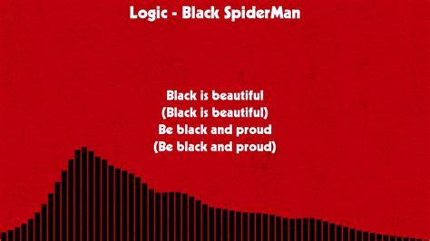 black spiderman lyrics logic black spiderman lyrics chords chordify