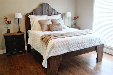 headboard frame diy 21 diy bed frames to give yourself the restful spot of