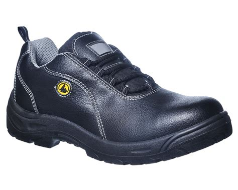 esd shoes portwest compositelite esd leather safety shoe s1 fc02