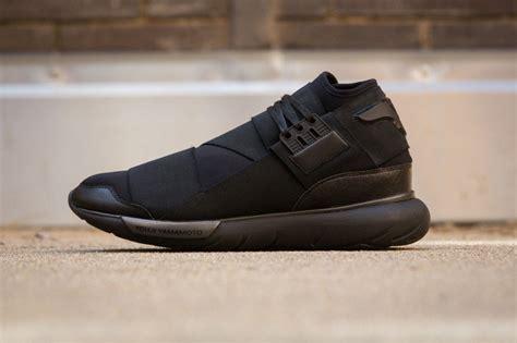 adidas y3 qasa adidas y 3 qasa high in all black sole collector