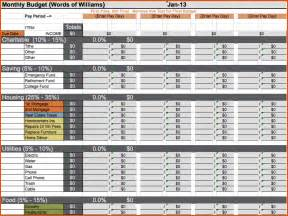 budget template free free budget worksheet dave ramsey