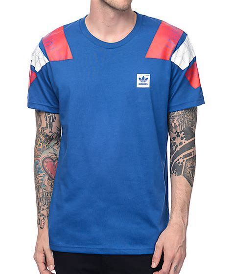 Pdp T Shirt adidas copa blue t shirt at zumiez pdp