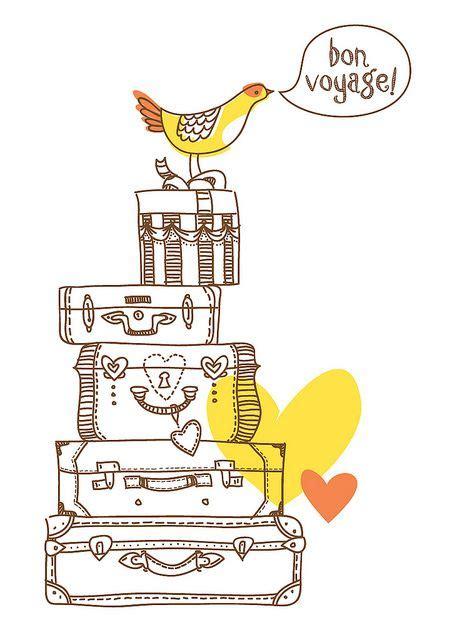 printable greeting cards bon voyage bon voyage to the quot love birds quot quotes pinterest