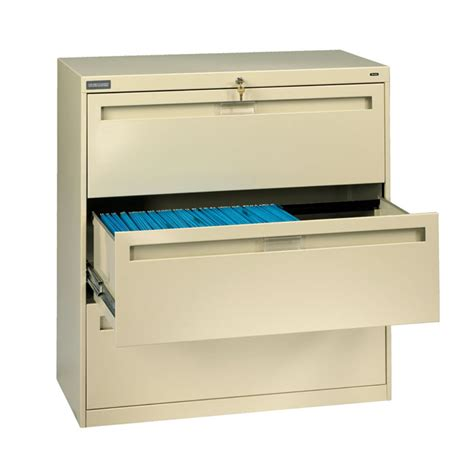42 Lateral File Cabinet Tennsco 42 Quot Three Drawer File Cabinet Lpl4236l30 X File Cabinets Worthington Direct
