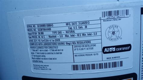 ge water heater gg38t06axk00 pilot light thermocouple information ge water heater igniter and