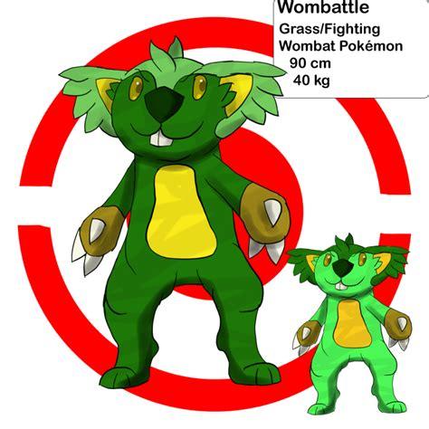 Be Gentle With Me Wombat My Blogtalkradio by Wombattle Pokedex By Ssjgarfield On Deviantart
