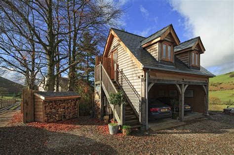 Garage With Accommodation by This Self Build Project Even Included A Garage With