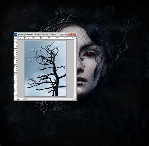 tutorial photoshop gothic how to create a dark gothic portrait photo manipulation
