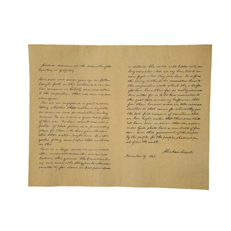 Home History Search By Address President Abraham Lincoln Gettysburg Address Historical Document 1863 Us History Ebay