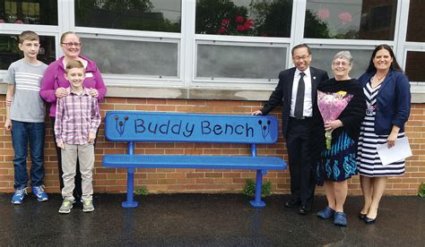 buddy bench story not one but two trips johnston sun rise