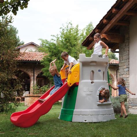 scivolo giardino scivolo giardino a forma di per bambini chicco by