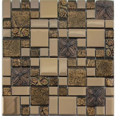 metal wall tiles kitchen backsplash plated metal coating tiles glass mosaic tile kitchen backsplash free shipping floor