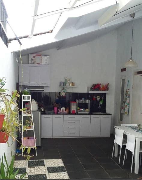 menyiasati dapur terbuka  rumah sederhana rumah