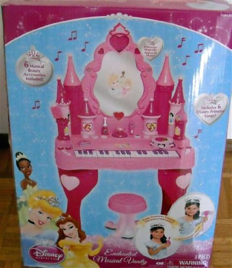 Princess Musical Vanity by Other Toys Disney Princess Enchanted Musical Vanity Was