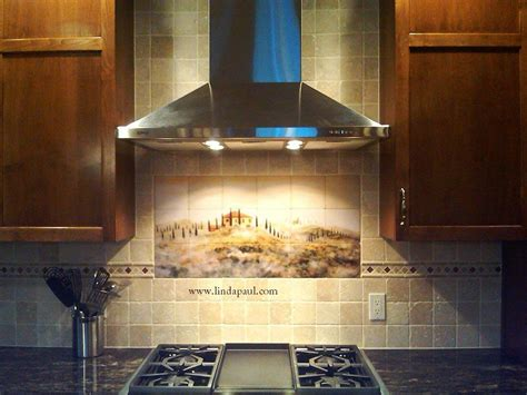 Marble Tile Kitchen Backsplash by Tuscan Tile Murals Kitchen Backsplashes Tuscany Art Tiles