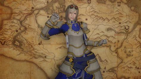 bless armors 7b original hdt skyrim 鎧系 みちのくオブリビオン oblivion