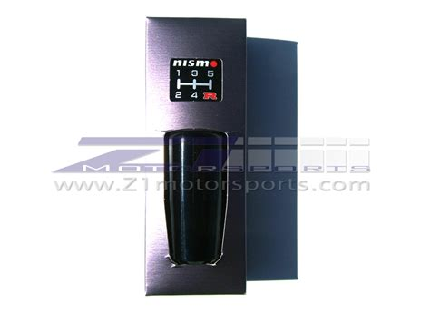 Nismo Black Aluminum Shift Knob by Nismo Black Aluminum Shift Knob Z1 Motorsports