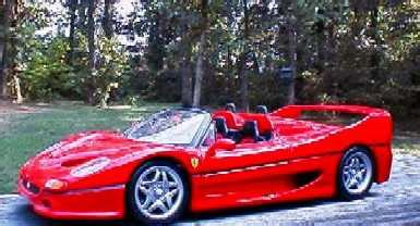 Ferrari F50 Convertible by Maisto 1995 Ferrari F50 Convertible Collector Reviews
