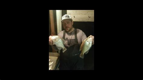 crappie fishing   february cold  wind rough