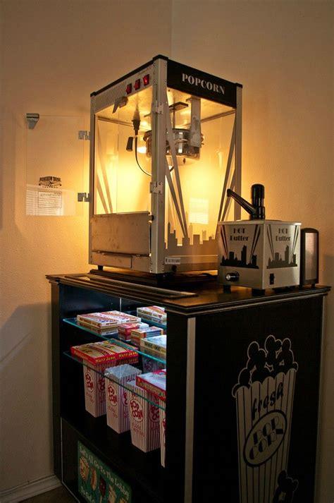 diy concessionpopcorn machine stand   home home