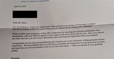 Georgetown Acceptance Letter 2016 By Any Other