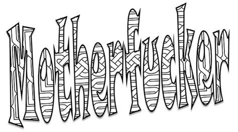 With Me Coloring Pages Cuss Word Coloring Pages Cuss Word Coloring Pages