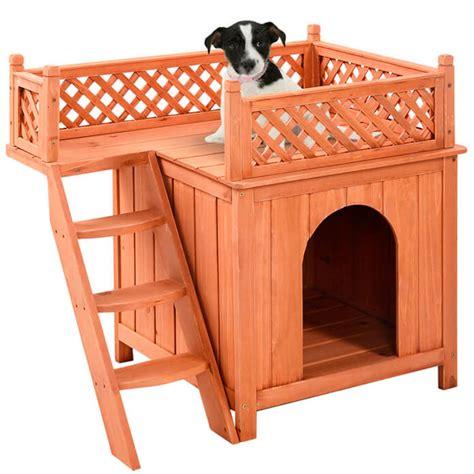 casas de madera para perros casas para perros de madera